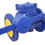 Iron Check Valve - Flanged PN16 Lever & Weight  - 4""